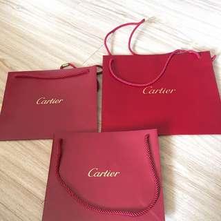 🚚 cartier卡地亞紙袋