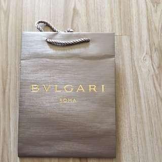 🚚 BVLGARI紙袋