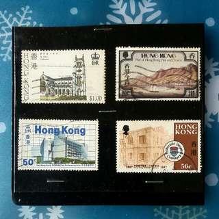香港紀念郵票