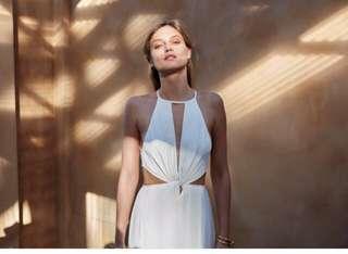 Bec And Bridge Mystic Maxi Dress In Ivory