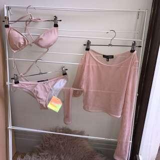 Missguided Three Piece Bikini Set
