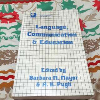Book: Language Communication And Education