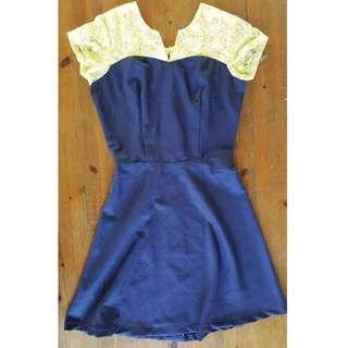 LADY BLUE DRESS
