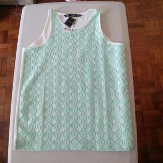 Forme Mint Green Blouse