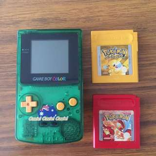Limited Edition Ozzie Gameboy Color