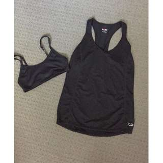Sports Bra and Sports Tank Top
