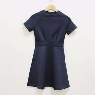 Zalora navy dress