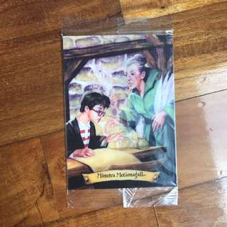 Harry Potter Minerva McGonagall Collectible Card