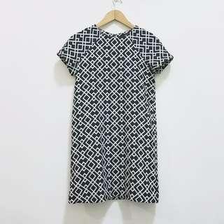 Zara Geometric Dress