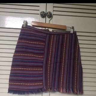 Patterned Rug Skirt from Mink