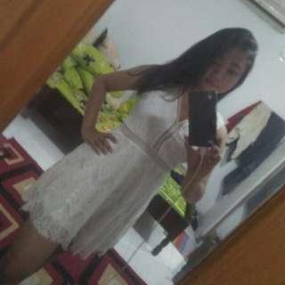 Mini Dres White