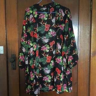 Oversized Floral Kimono