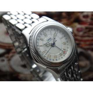 ORIS VINTAGE POINTER DATE AUTOMATIC LADIES WATCH