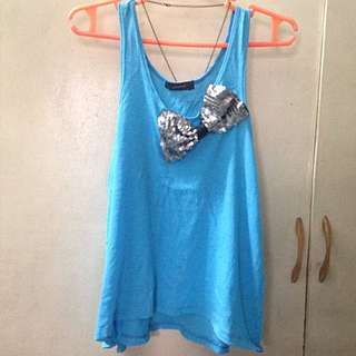 Hanging Sleeveless With Ribbon