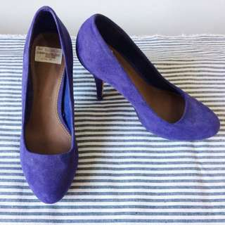 Suede Pump Shoes