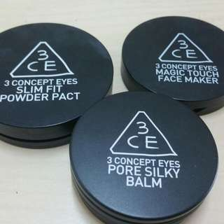3CE Products 3 For RM140