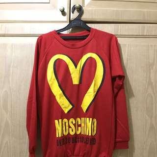 Moschino Fries Sweater