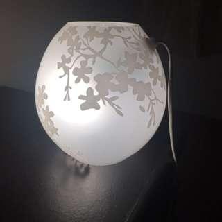 IKEA night lamp with light bulb
