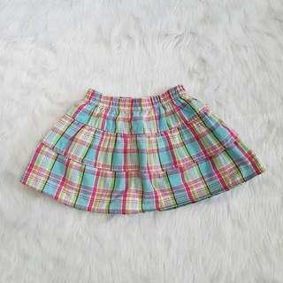 Plaid Skirt Baby Toddler Kid Girl