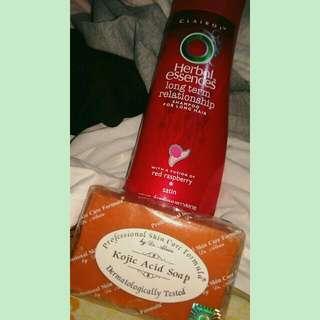 BUNDLE! Shampoo & Kojic soap!