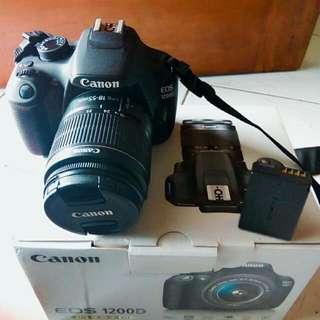 Camera DSLR CANNON 1200D Kit