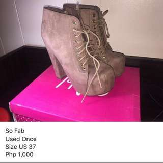 So Fab Chunky Boots