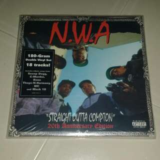 N.W.A - Straight Outta Compton 180 Gram Vinyl Sealed ( 20th Anniversary Edition )