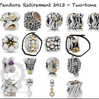 Looking For Retired Pandora Charms