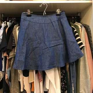 Glamour Denim Skirt