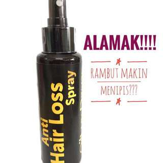 Spray Anti Hair Loss (Spray Anti Rambut Gugur)