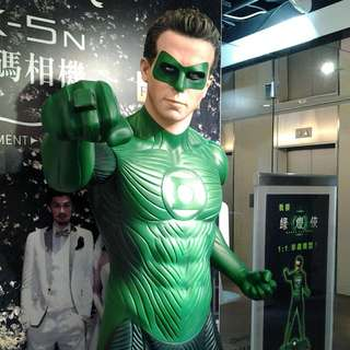 1:1真人size DC Comic Green Latern Justice League 正義聯盟 綠燈俠 雕像