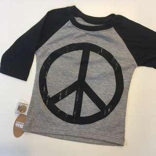 Peace 3/4 Sleeve Tees
