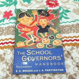 Book: The School Governors Handbook