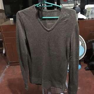 Dark Green Knitted Pullover