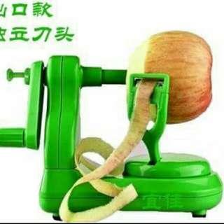 🚚 手搖蘋果削皮機
