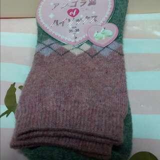 襪子(35-36cm) 羊毛40%