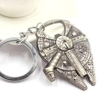 Star Wars Millenium Falcon Keychain Bottle Opener