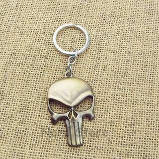 Marvel Punisher Skull Keychain
