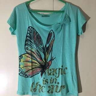Terranova Turquoise Shirt