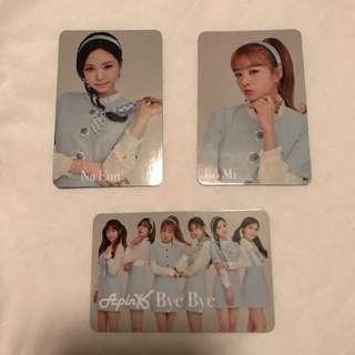 [Instock] Apink Japan Bye Bye Blue Photocard