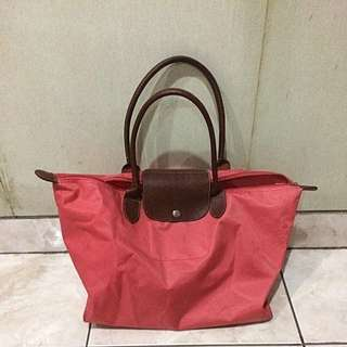 longchamp medium pink