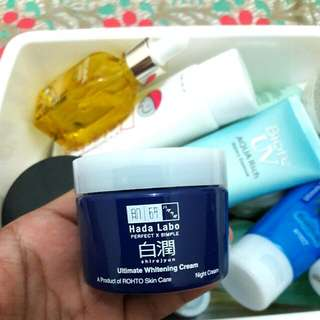 Hada Labo - Ultimate Whitening Cream Night