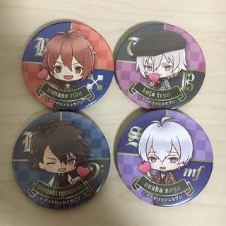 Idolish7 7-11 Limited Badges