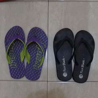 Ando Black Sandal Ukuran 37