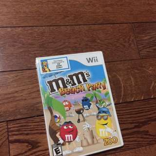 M&Ms Beach Party For Wii