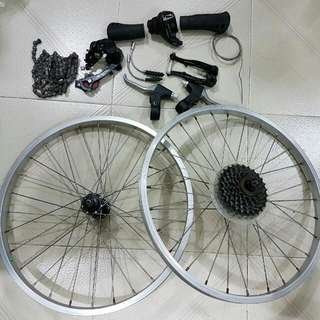 "Some Components u may Need For Ur 20"" Folding Bike & Others"