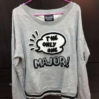 Major 長袖 (灰色)