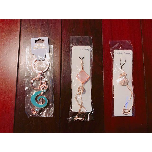 創意時尚精美手機吊飾掛飾飾品