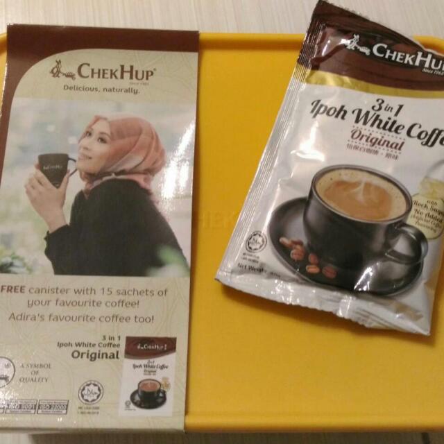 馬來西亞白咖啡三合一