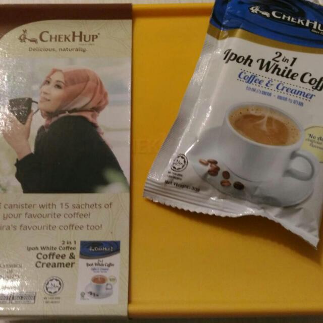 馬來西亞白咖啡二合一  (糖另外包裝)